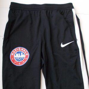 Nike DRI-FIT Black Athletic Jogging Pants Size M